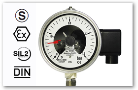 Electric Contactor Pressure Gauge